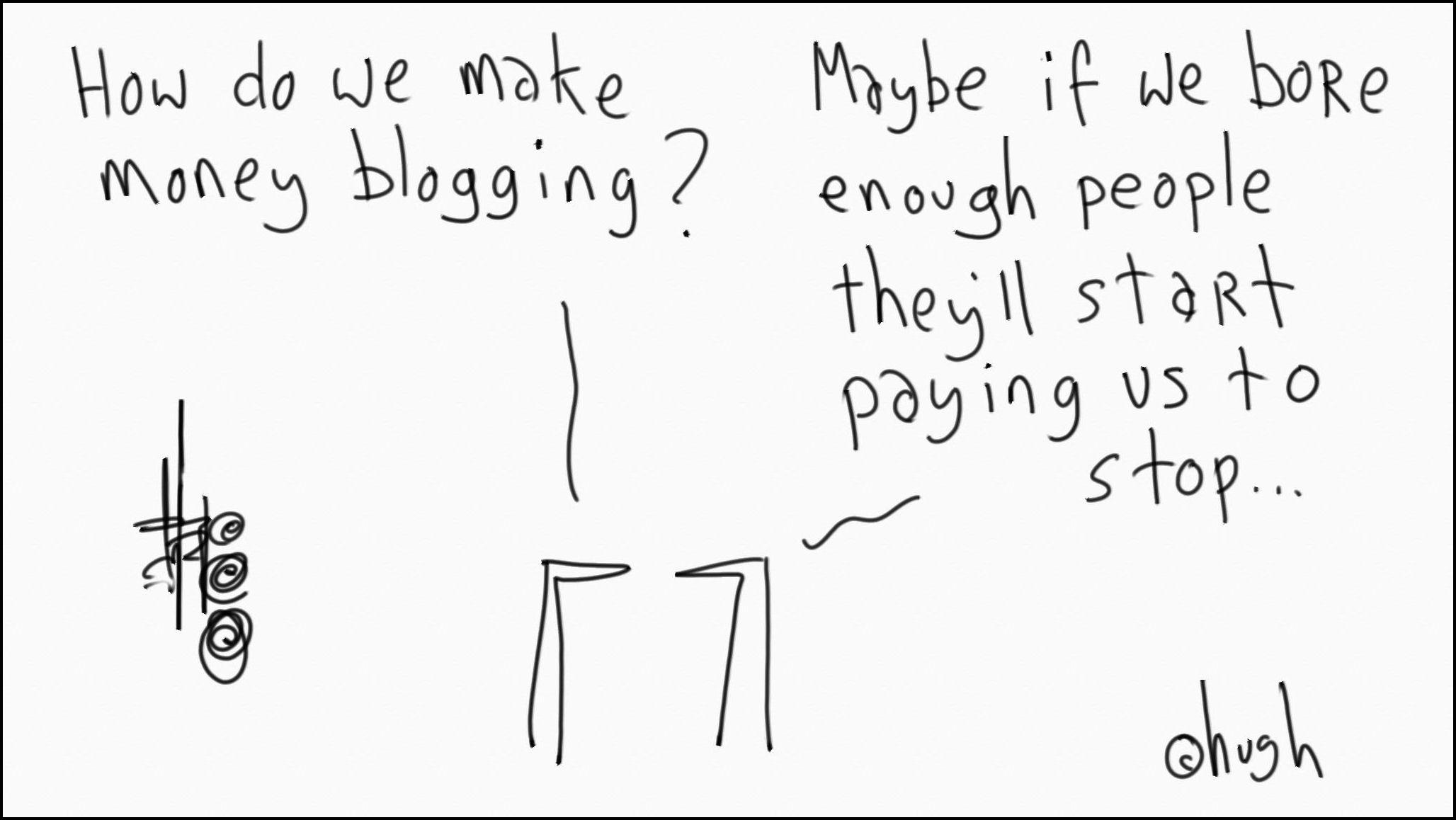 Ganar dinero en un blog